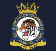 439 (Linlithgow) Squadron (White) Kids Tee