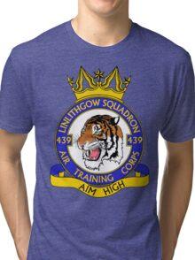 439 (Linlithgow) Squadron (White) Tri-blend T-Shirt