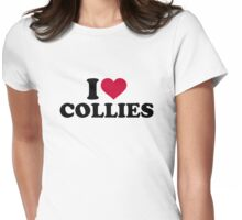 I love Collies Womens Fitted T-Shirt