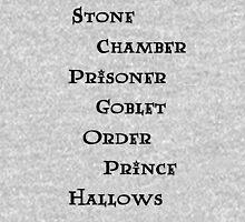 Harry Potter books Unisex T-Shirt
