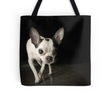 Chihuahua Black & White Tote Bag
