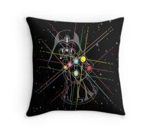Infinity Galaxy Throw Pillow