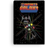 Infinity Galaxy Canvas Print