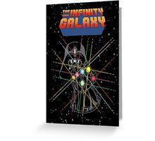 Infinity Galaxy Greeting Card