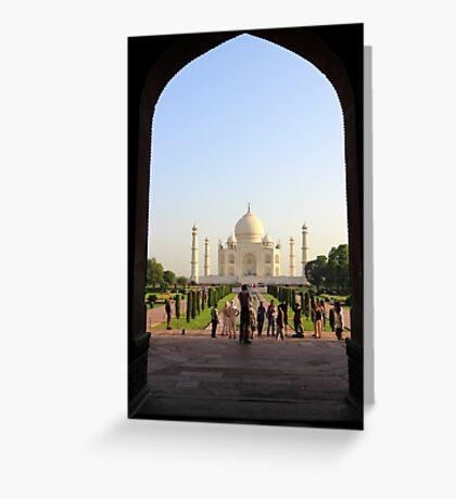India Greeting Card