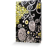 hommage to klimtp Greeting Card