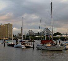 Sprawling Brisbane by Matthew Stewart