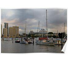 Sprawling Brisbane Poster