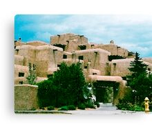 Adobe Structures Canvas Print