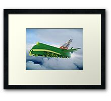 Pakistani Interplanetary Sky Trains Framed Print