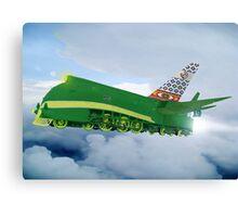 Pakistani Interplanetary Sky Trains Canvas Print