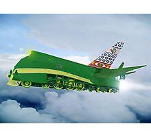 Pakistani Interplanetary Sky Trains Photographic Print
