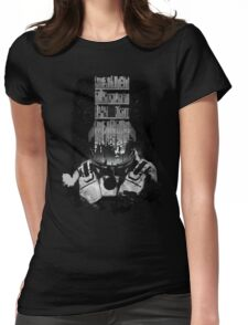 INTERSTELLAR poster Womens Fitted T-Shirt