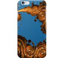 Swirling Golden Coins iPhone Case/Skin