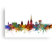 Norwich England Skyline Canvas Print