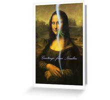 Nimbin Mona Greeting Card