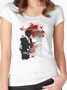 Movie Quote with-a-gun 4 PULP FICTION Women's Fitted Scoop T-Shirt