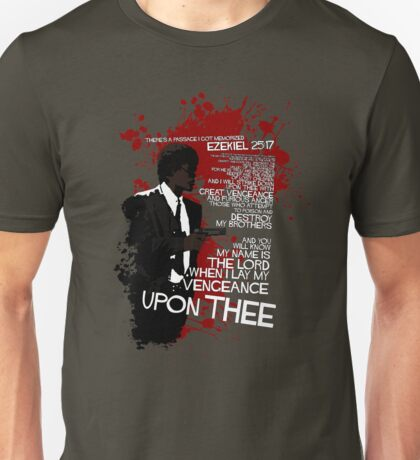 Movie Quote with-a-gun 4 PULP FICTION Unisex T-Shirt