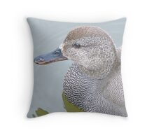 A Gadwall Throw Pillow