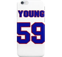 National baseball player Tim Young jersey 59 iPhone Case/Skin