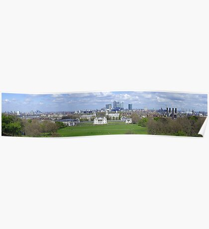 View from Greenwich hill Poster
