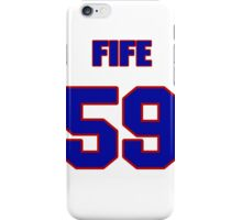 National baseball player Stephen Fife jersey 59 iPhone Case/Skin