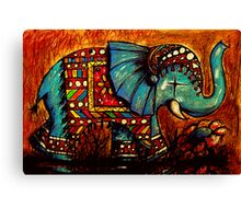 Rajah the Elephant Canvas Print