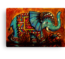 Rajah the Elephant Canvas Print
