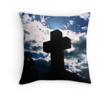 As If From Heaven Throw Pillow