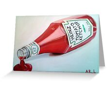 Pass the Ketchup! Greeting Card