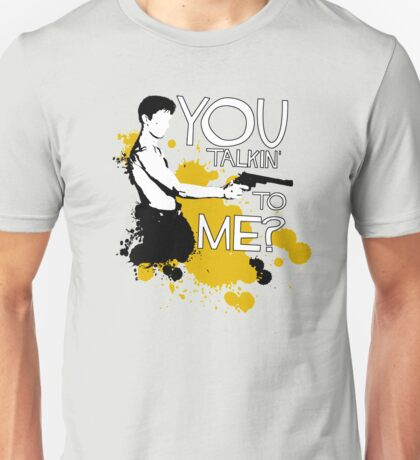 Movie Quote with-a-gun 1 TAXI DRIVER Unisex T-Shirt