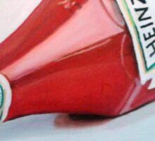 Pass the Ketchup! Sticker