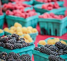 Fresh Berry Assortment by Nicole Petegorsky
