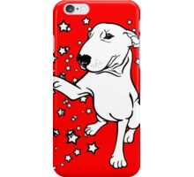English Bull Terrier Giving a Paw iPhone Case/Skin