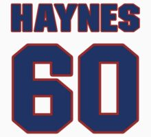 National baseball player Jimmy Haynes jersey 60 by imsport