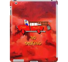 Red Fire Truck - all products iPad Case/Skin