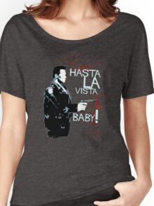 Movie Quote with-a-gun 3 TERMINATOR Women's Relaxed Fit T-Shirt