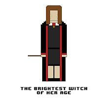 Hermione Granger 'The Brightest Witch of Her Age' 8-bit by cmonskinnylove