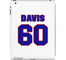 National baseball player Kane Davis jersey 60 iPad Case/Skin