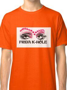Frida K-Hole Eyes Classic T-Shirt
