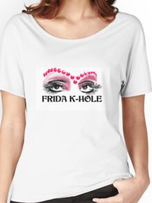 Frida K-Hole Eyes Women's Relaxed Fit T-Shirt