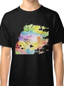Rainbow Totoro Classic T-Shirt