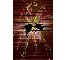 London Street Art - Ratatouille 2 Photographic Print