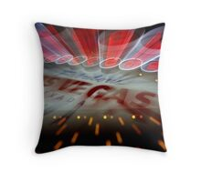 Vegas Sign No. 10 Throw Pillow