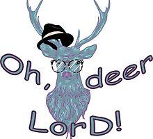 Oh, deer lord! by AnnArtshock