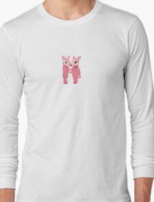 Pink Rabbits  Long Sleeve T-Shirt