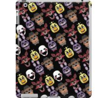 Five Nights At Freddy's Pizzeria Multi-Character All Over Print Patten iPad Case/Skin