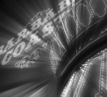 Vegas Lights in B&W No. 3 by Benjamin Padgett