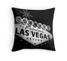 Vegas Sign No. 21 Throw Pillow