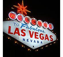 Vegas Sign No. 20 Photographic Print